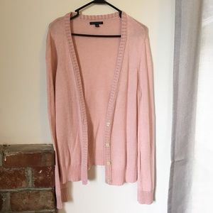 Light Pink American Eagle Cardigan Sweater Sparkle